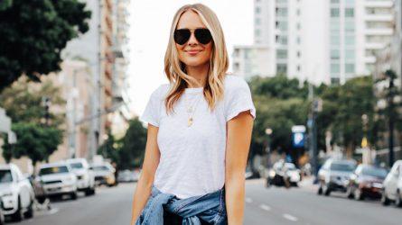 Phối đồ với áo thun trắng & đen – Item kinh điển không bao giờ lỗi mốt
