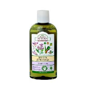 Nước hoa hồng GREEN PHARMACY dành cho da dầu và da hỗn hợp chiết xuất cây xô thơm và cây xương bồ