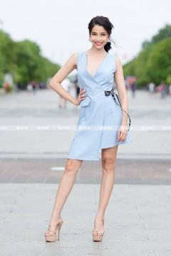 Đầm Vest Nơ Đen