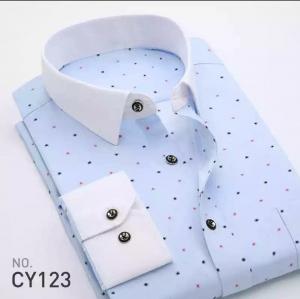 Áo sơ mi nam họa tiết hiện đại CY123