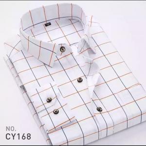 Áo sơ mi nam họa tiết hiện đại CY168