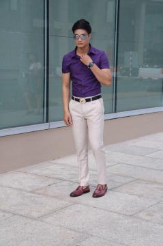 Quần âu nam dáng ôm nhiều màu QA011