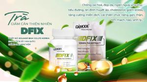 DFIX – Trà Giảm Cân Thiên Nhiên