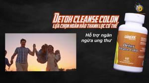 VIÊN UỐNG ĐÀO THẢI ĐỘC TỐ DAMODE DETOX & CLEAN COLON
