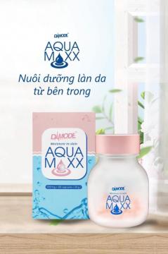 Viên Cấp Ẩm Collagen  Căng Bóng , Trẻ Hóa Da - AQUA MAXX