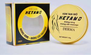 KEM TAN MỠ - KETAMO DERMA 50g