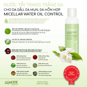 Tẩy trang chuyên biệt dành cho da dầu , mụn, hỗn hợp - MICELLAR OIL CONTROL
